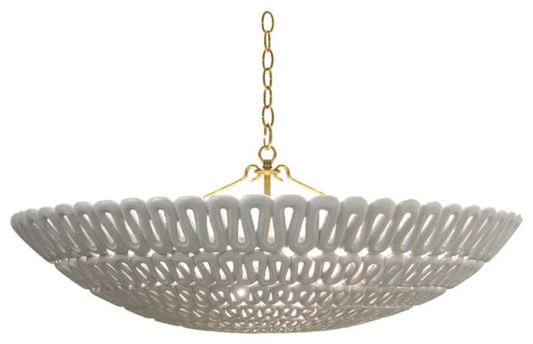Oly Studio Pipa Bowl Chandelier // * Free Shipping // Please contact us for pricing