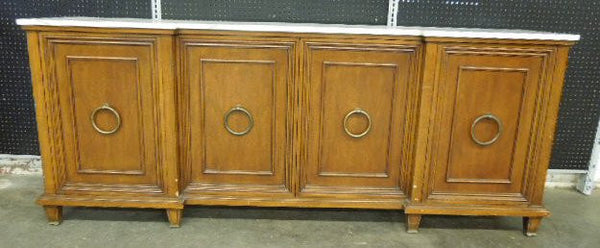 Regency Style Sideboard with Brass Hardware - ON HOLD