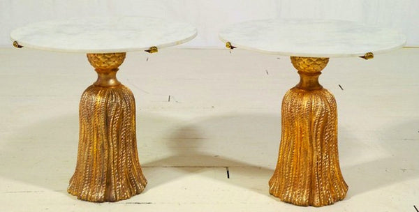 Gilded Tassel Tables - Pls contact us for pricing