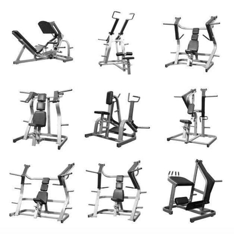 Packages of Used Gym Equipment For Sale, Paquetes de Equipo de Gimnasio a la venta.