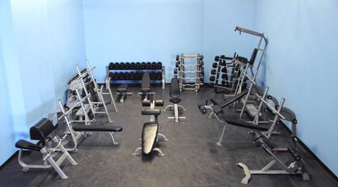 Full Gym Package Muscle D Fitness and Cemco Strength (Equipo de Gimnasio Completo)
