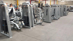 $65,000.00 Full Precor Strength Gym Package, Precor Free Weight Package, Precor Selectorized Circuit, Precor 8 Station