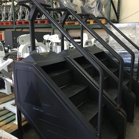 Black Face Stepmill 7000 Pt Reconditioned.