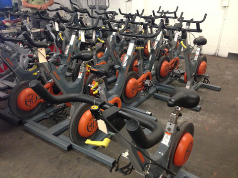 Keiser Indoor Cycling Bike Package of 20  ( Used As Is) (great for a studio)