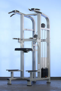 WEIGHT ASSISTED CHIN/DIP COMBO MACHINE Muscle D Fitness