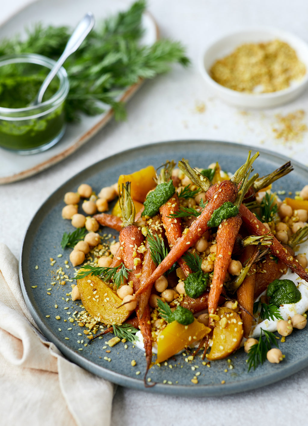 Roasted Carrot and Yellow Beetroot Salad | Harris Farm Markets