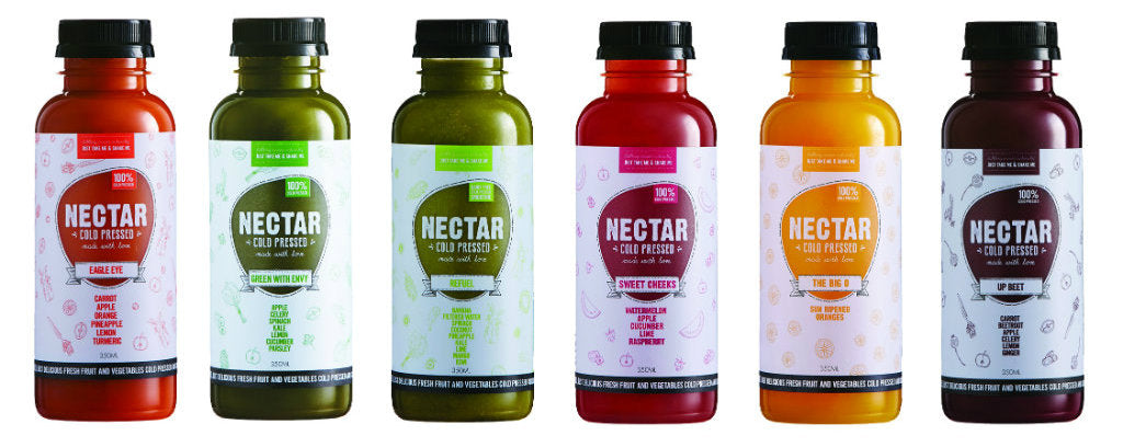 Nectar Cold Pressed Juices Range