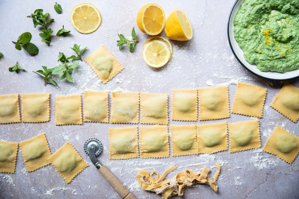 Lemon Ricotta Ravioli | Harris Farm Markets