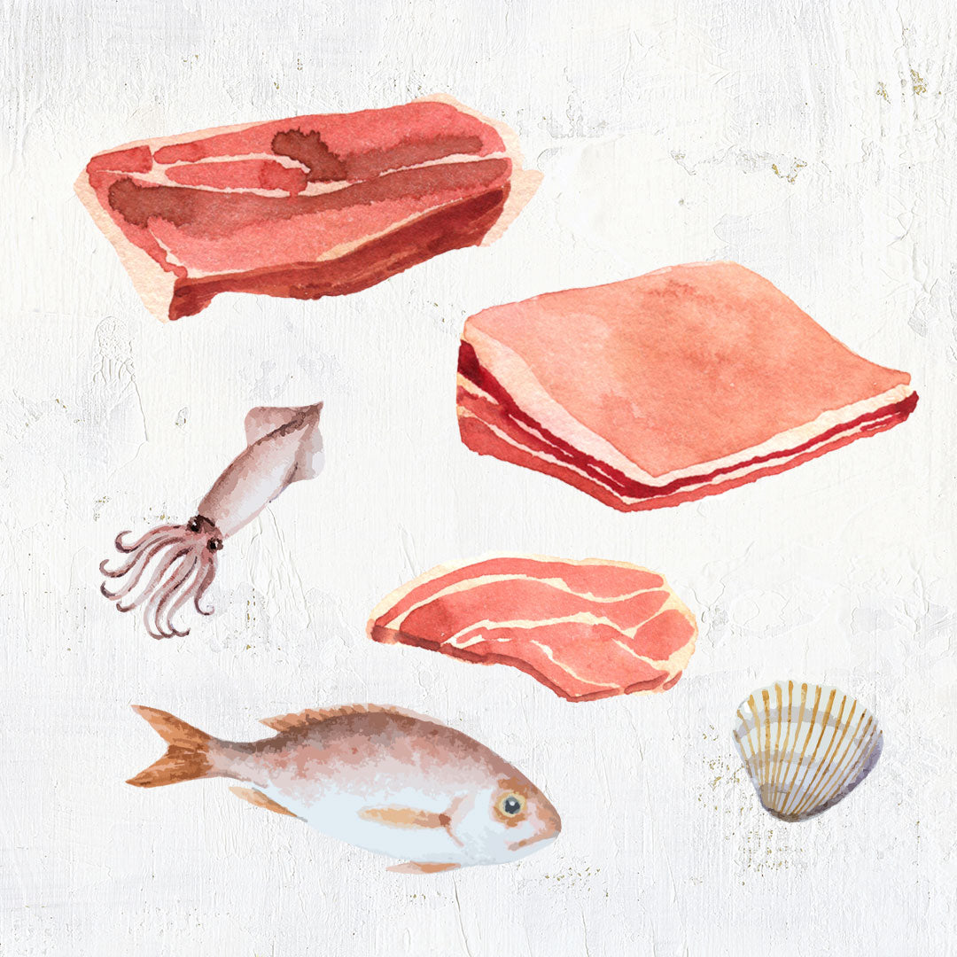 shop meat and seafood