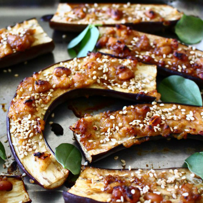 Roasted Miso Eggplant Recipe