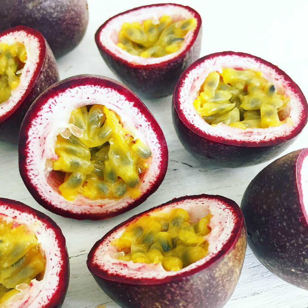 Sweet Aussie Passionfruit - Cut Open