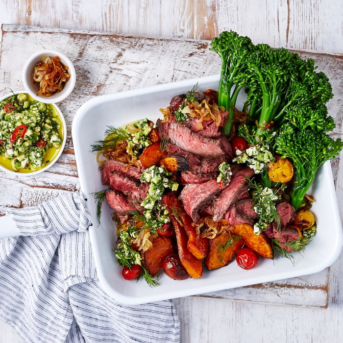 BEEF HANGER STEAK RECIPE