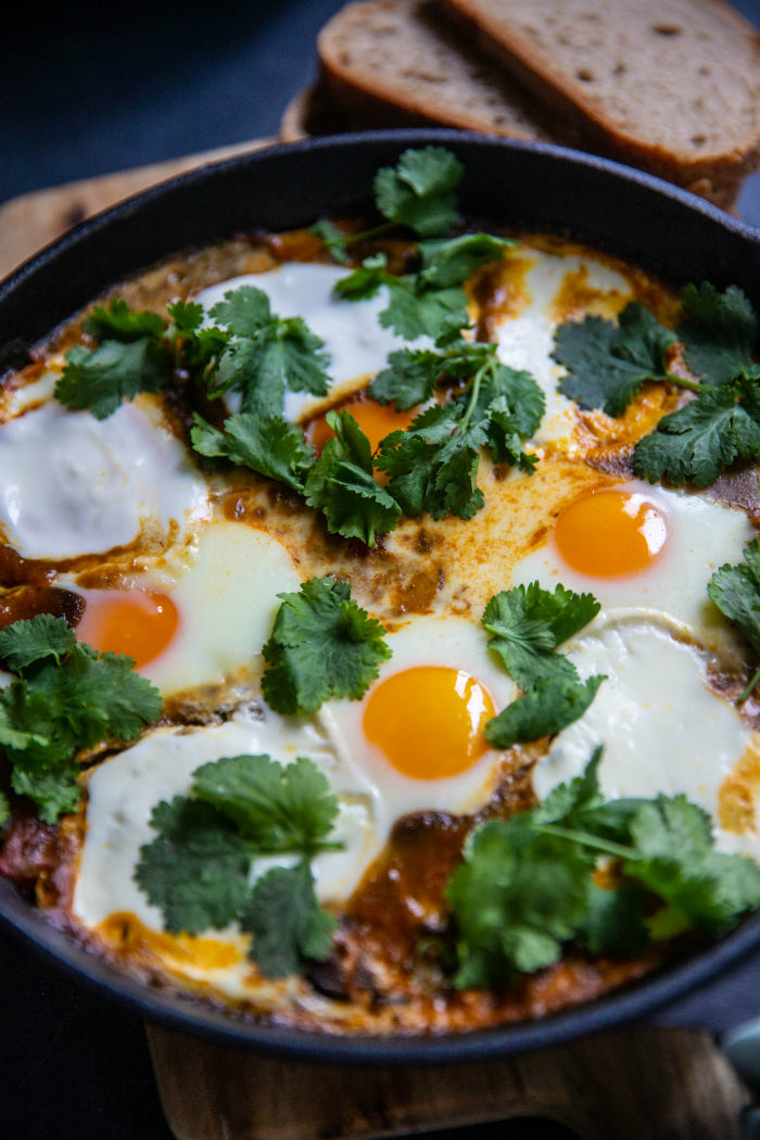 Baked Eggs in Salsa recipe