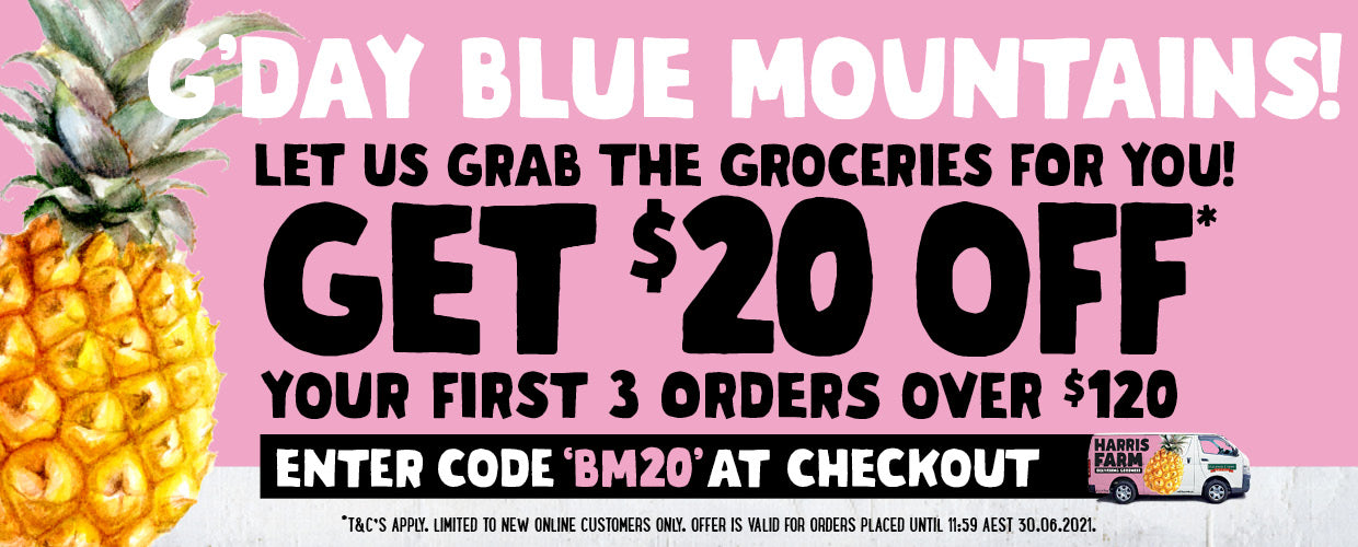 Blue Mountains delivery now available