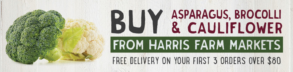Buy Fresh Asparagus, Broccoli, Cauliflower Online From Harris Farm Markets