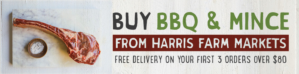Buy Fresh BBQ and Mince Meat Online From Harris Farm Markets
