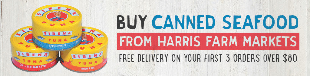 Buy Fresh Canned Seafood Online From Harris Farm Markets