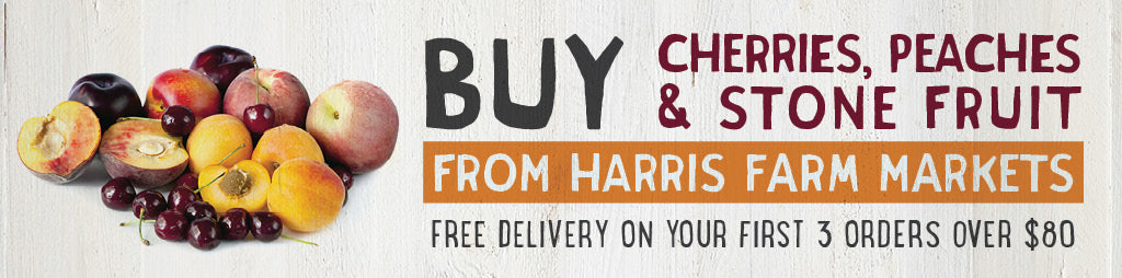 Buy Fresh Cherries, Peaches and Stone Fruits Online From Harris Farm Markets