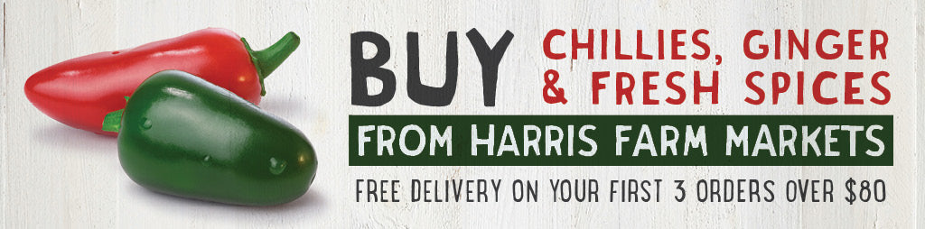 Buy Fresh Chillies, Ginger _ Fresh Spices Online From Harris Farm Markets