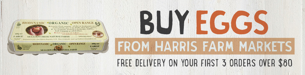 Buy Cage-Free Eggs from Harris Farm Markets Online