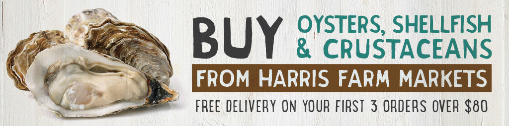 Buy Fresh Oysters, Shellfish & Crustaceans From Harris Farm Markets