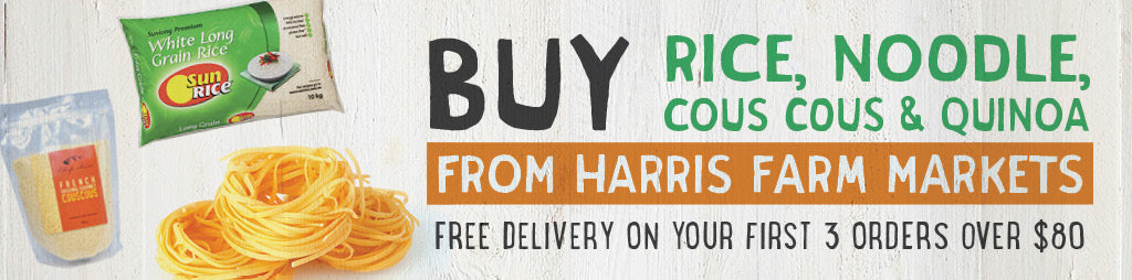 Buy Rice, Noodle, Couscous & Quinoa Online From Harris Farm Markets