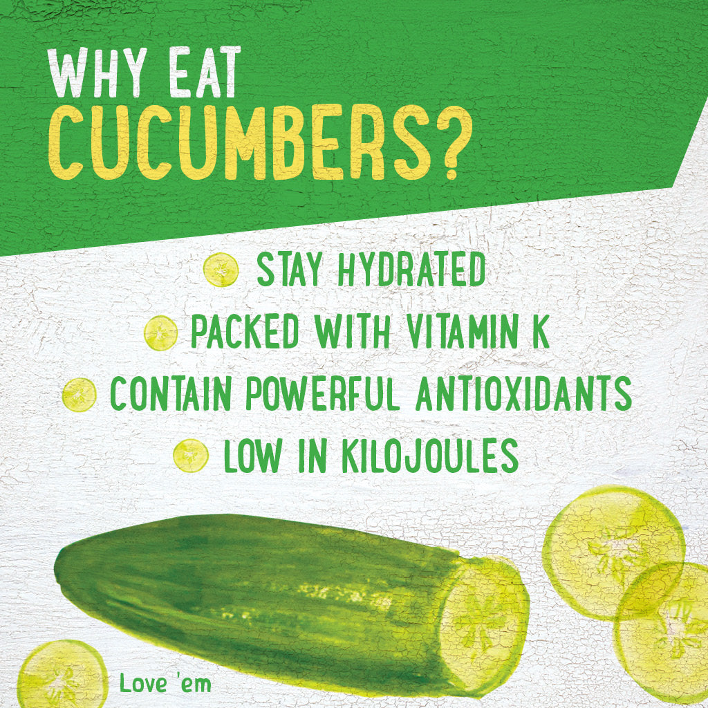 Cucumbers, a dietitians guide