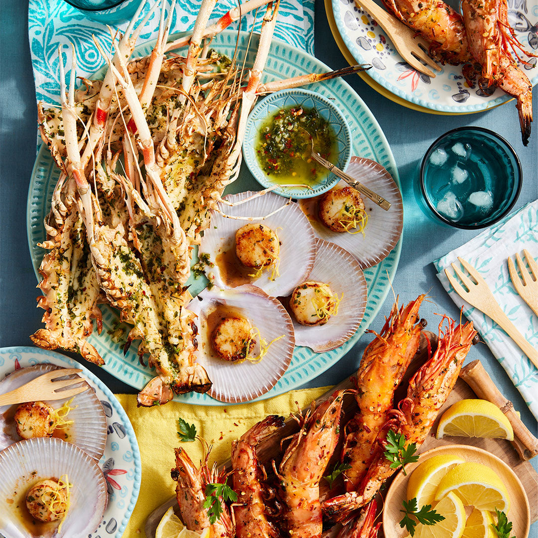 Photo of Grilled Seafood Platter