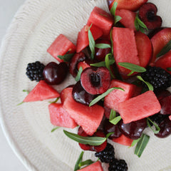 Crimson Fruit Salad with Tarragon