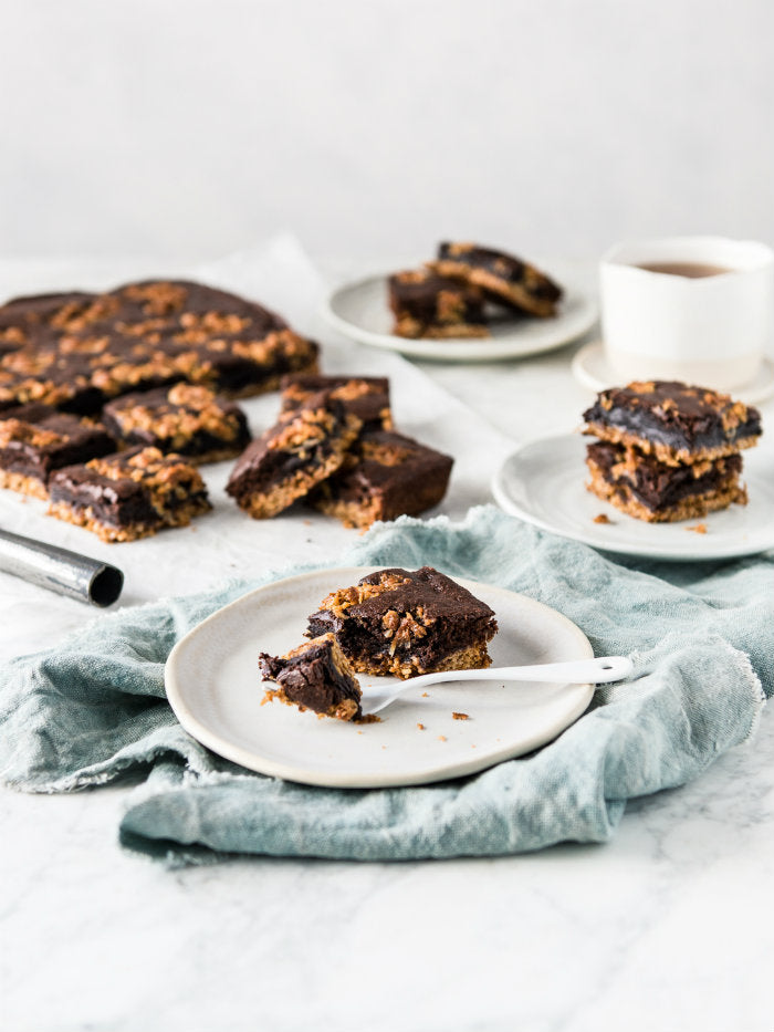 Anzac biscuit brownie recipe