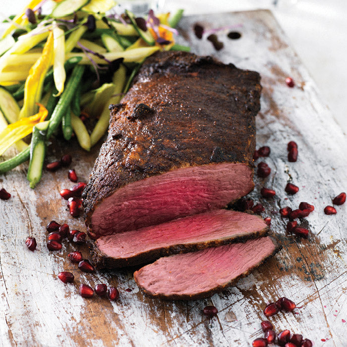Harissa Crusted Beef Tri Tip