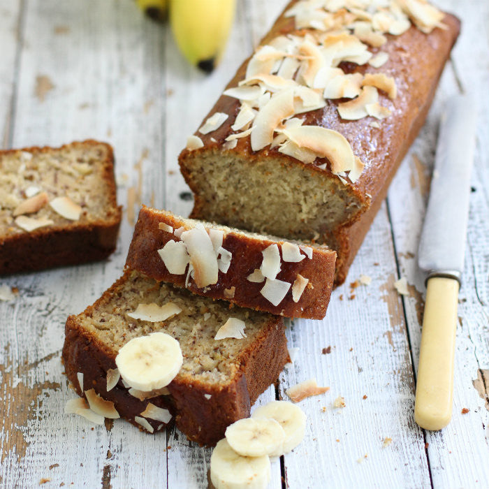 Banana Bread with Coconut