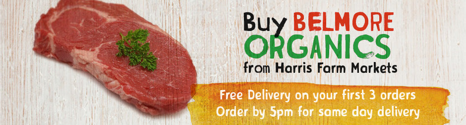 Buy Belmore Organics Meat Products From Harris Farm Markets