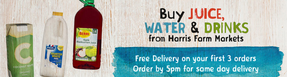 Buy Juice, Water & Drinks Groceries From Harris Farm Markets