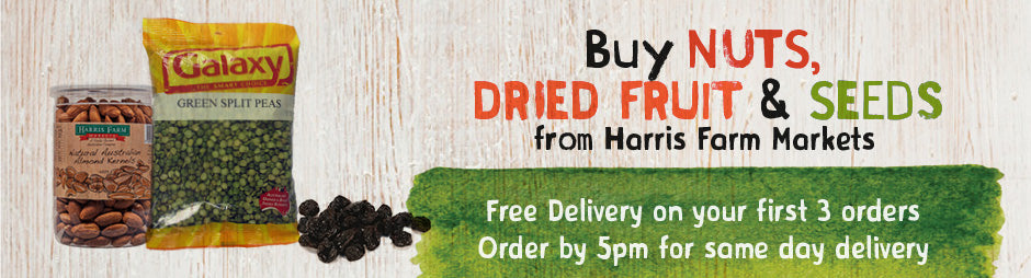Buy Nuts, Dried Fruit & Seeds Groceries From Harris Farm Markets