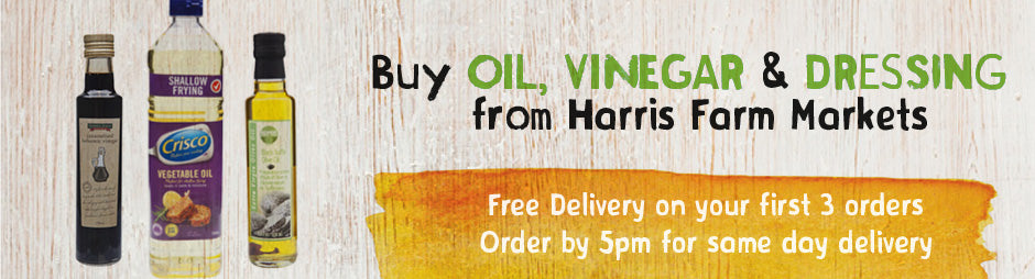 Buy Oil, Vinegar & Dressing Groceries From Harris Farm Markets
