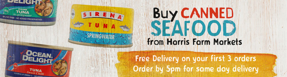 Buy Canned Seafood Products From Harris Farm Markets