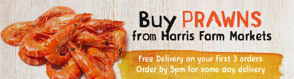 Buy Fresh Prawns Products From Harris Farm Markets