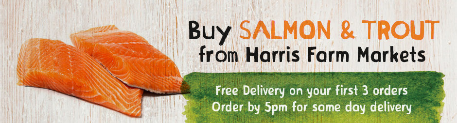 Buy Salmon and Trout Products From Harris Farm Markets