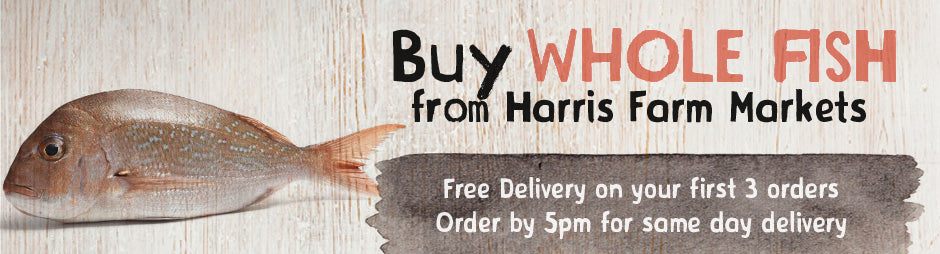 Buy Fresh Whole Fish Products From Harris Farm Markets