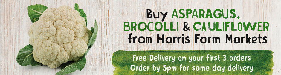 Buy Fresh Asparagus, Broccoli, Cauliflower From Harris Farm Markets