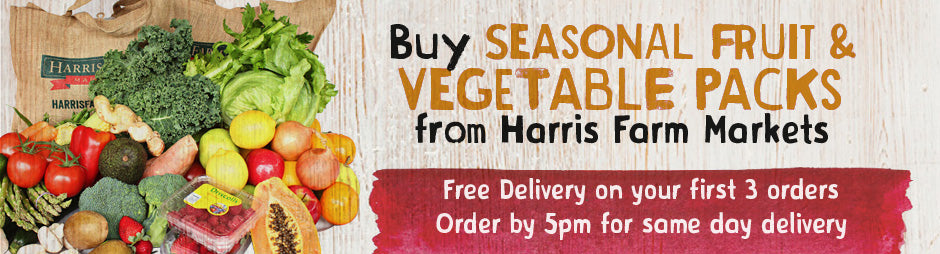 Buy Seasonal Fruit & Vegetables Packs From Harris Farm Markets