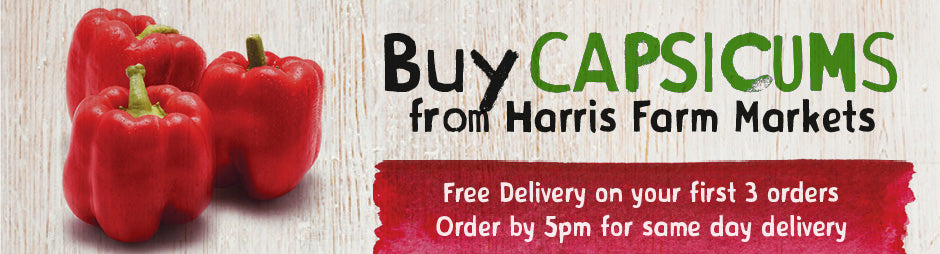 Buy Fresh Capsicums From Harris Farm Markets