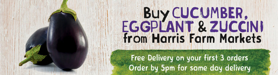 Buy Fresh Cucumber, Eggplant & Zucchini From Harris Farm Markets