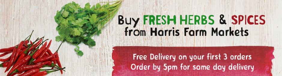 Buy Fresh Herbs & Spices From Harris Farm Markets