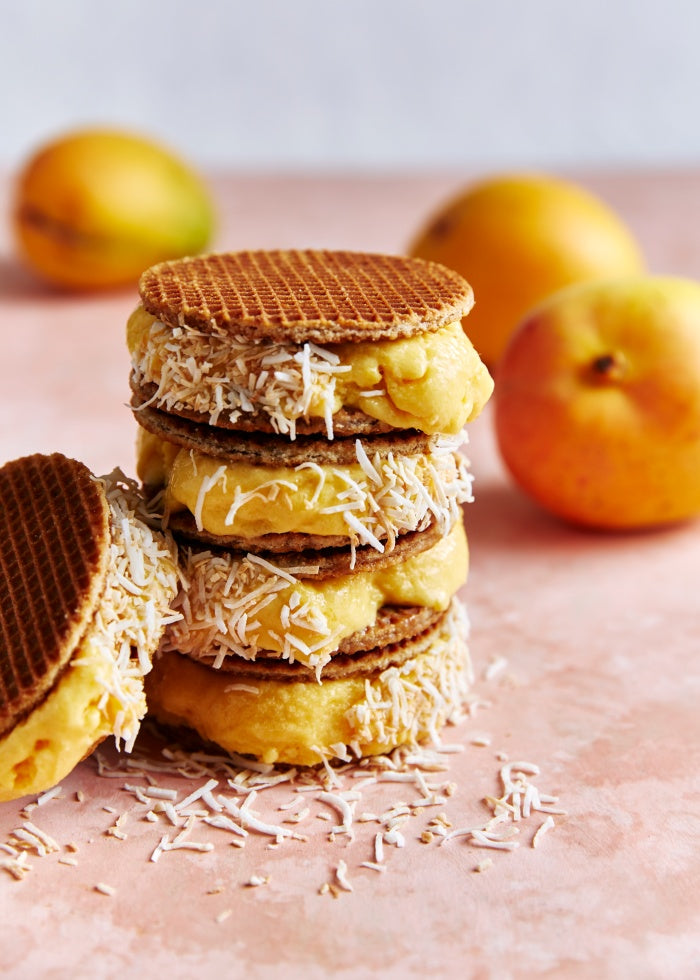 Mango sorbet wafer recipe