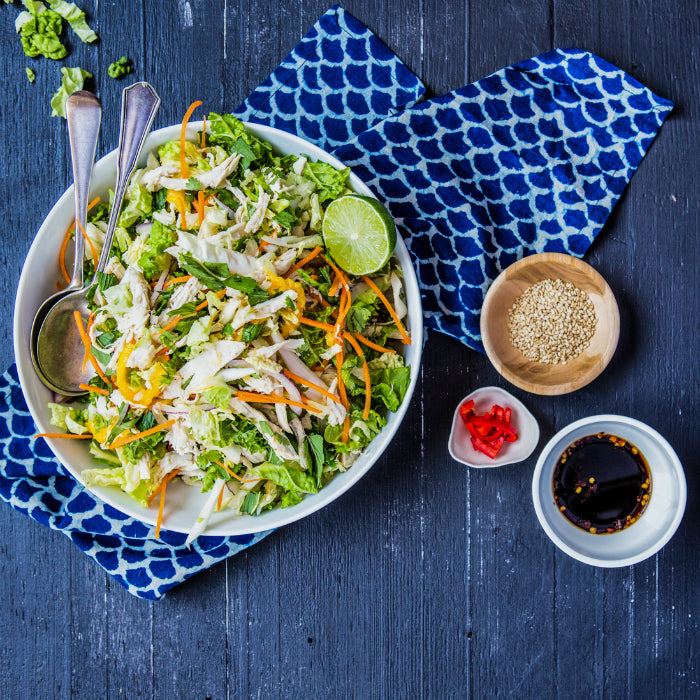Asian Shredded Chicken & Mango Salad | Harris Farm Markets