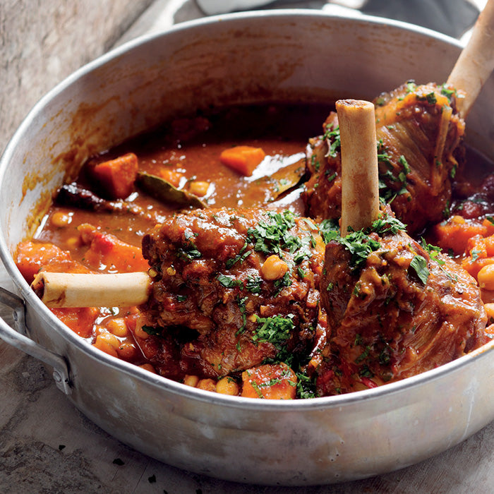 Moroccan Lamb Shanks by Valli Little