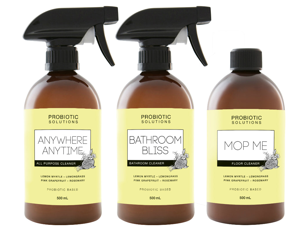 Probiotic Cleaning Solution Range
