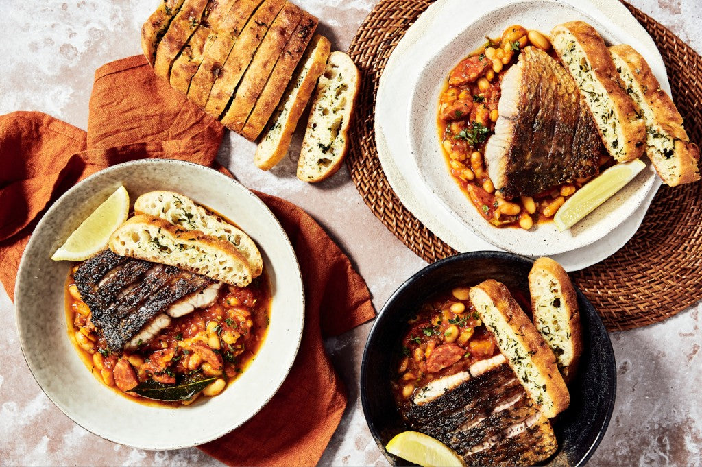 barramundi soup online meal box harris farm
